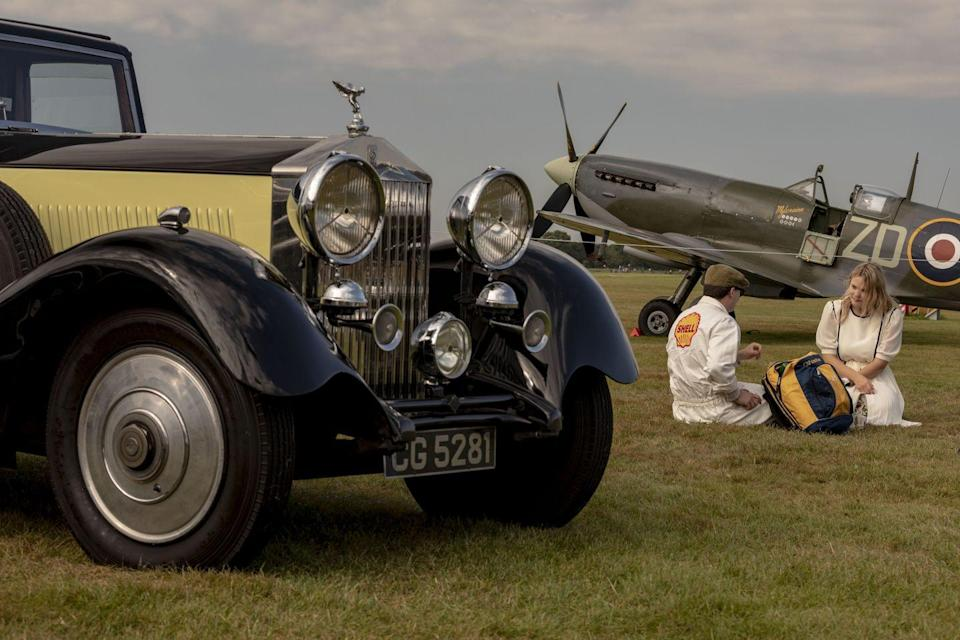 <p>This looks like a magazine ad. But it's just another afternoon at the Goodwood Revival.</p>