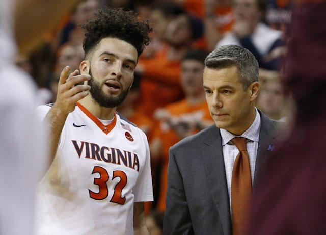 Virginia failed to score 60 points in nine games this season.