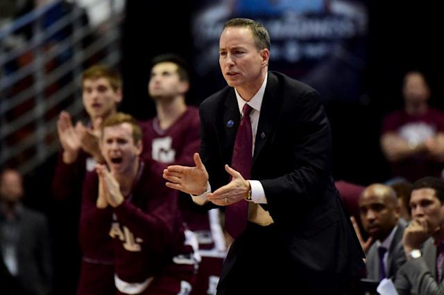 Texas A&M coach BIlly Kennedy could have a hard time keeping Robert Williams out of his starting five (Getty Images)