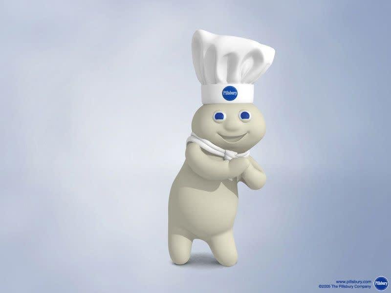This little baking master definitely ranks as one of the cutest brand mascots of all time. How could you not want to poke his tummy?!