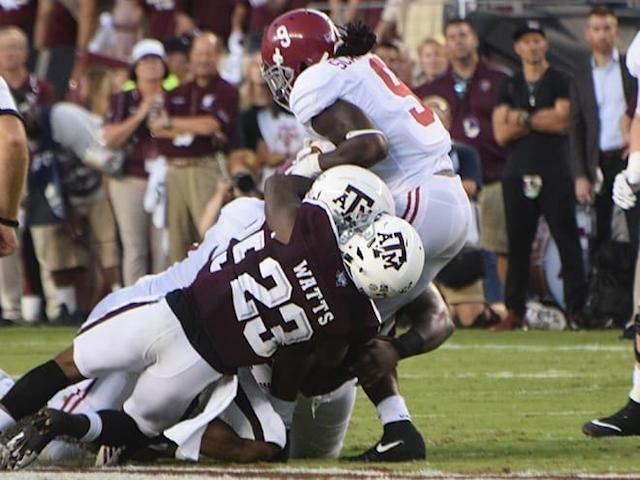 Ags come up short vs. Bama