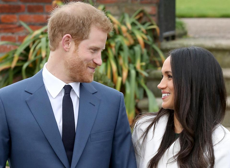 There's a high chance Prince Harry and Meghan Markle will go by their given names on the big day. [Photo: Getty]
