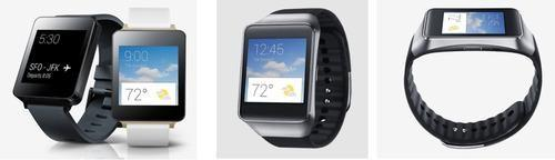Android Wear watches