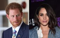 <p>In November, Harry was forced to issue a statement confirming that the 'Suits' star was his girlfriend and telling the media to back off. Meghan along with her family and friends had been hounded by the press since the dating rumours began.<br><i>[Photo: Getty]</i> </p>