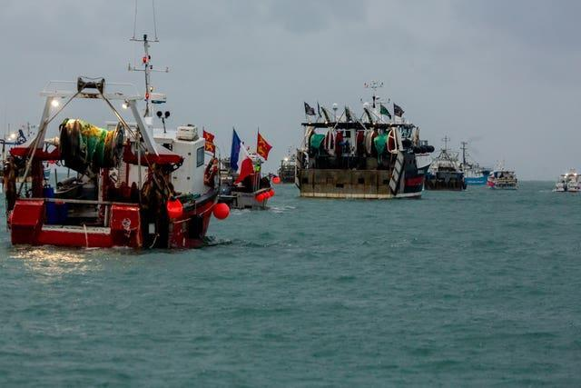 France has been irked after the UK Government and Jersey turned down applications to fish in its waters