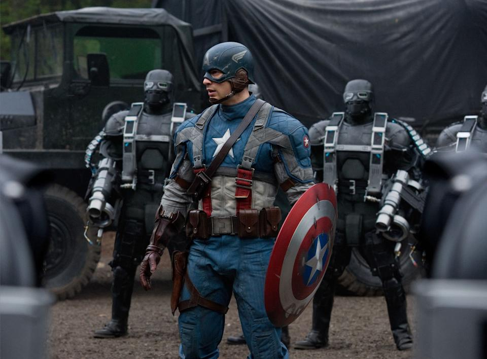 Chris Evans as Steve Rogers in <i>Captain America: The First Avenger</i>. (Marvel Studios)