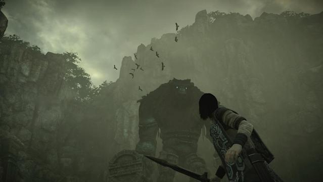 The colossi are as massive as buildings and hit just as hard.