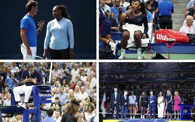 Will Serena still continue with her coach Patrick Mouratoglou after US Open debacle? - Getty Images