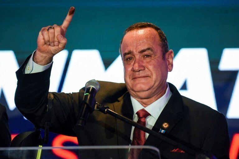 Alejandro Giammattei won Guatemala's presidential election on Sunday, raising fresh concerns about the Central American country's democracy. (Photo: AFP)