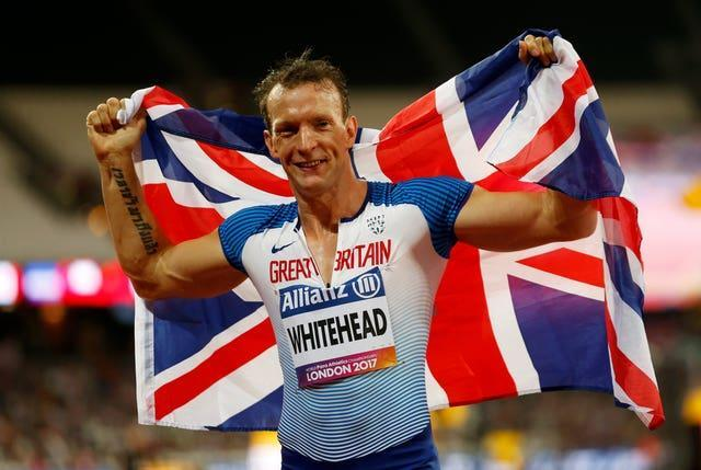 Great Britain's Richard Whitehead could continue his Paralympic odyssey as far as Paris 2024