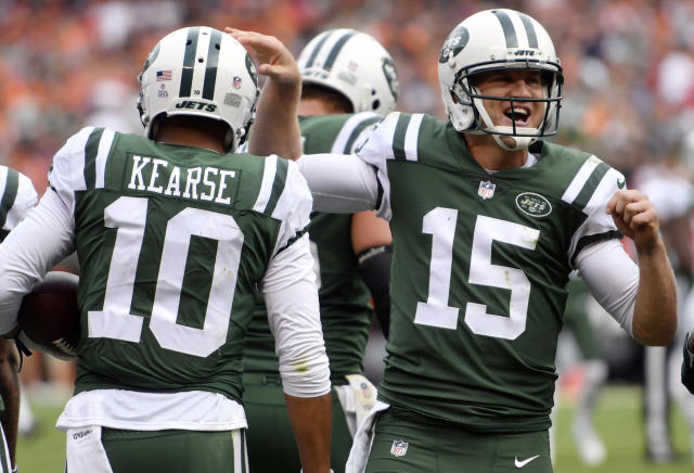Josh McCown and Jermaine Kearse both belong in your deep league fantasy plans. (AP Photo/David Richard, File)