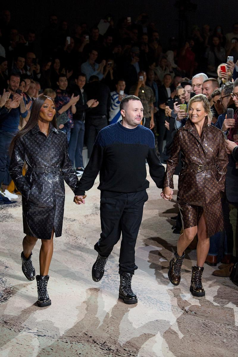 Jones's good bye to Louis Vuitton was also a thank you to Marc Jacobs, who hired him for the job.