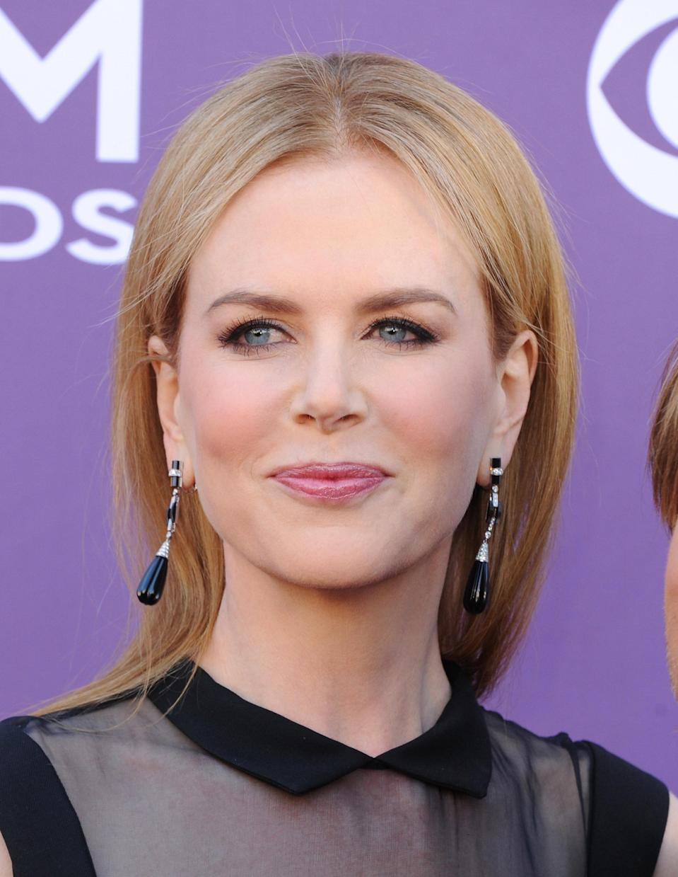 """<div class=""""caption-credit""""> Photo by: (Photo by Jon Kopaloff/FilmMagic)</div>Last year, Nicole Kidman ended years of speculation by finally admitting to <a rel=""""nofollow noopener"""" href=""""http://yhoo.it/HE1pFQ"""" target=""""_blank"""" data-ylk=""""slk:trying Botox"""" class=""""link rapid-noclick-resp"""">trying Botox</a> . """"I didn't like how my face looked afterwards,"""" she told the German Magazine, <i>TV Movie</i>. """"Now I don't use it anymore - I can move my forehead again!"""""""