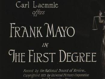 From the opening credits of 'The First Degree' (Chicago Film Archives)