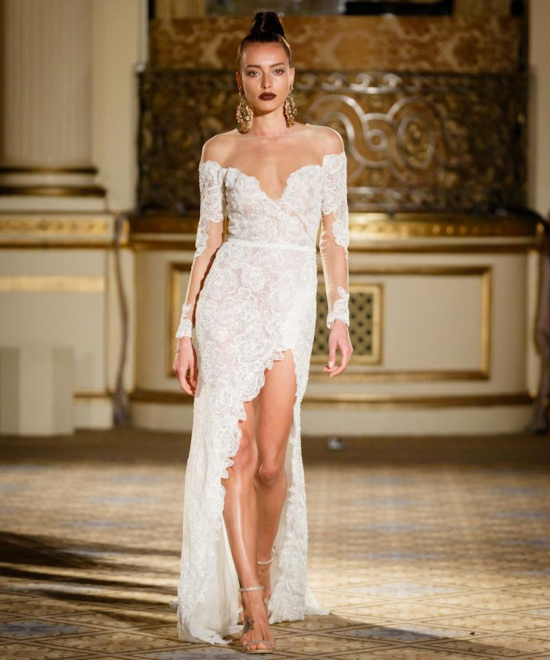 the sexiest wedding dresses at spring 2018 bridal fashion week