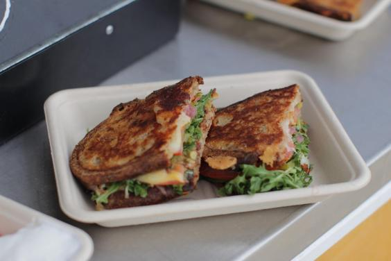 Killer filler: a grilled cheese sandwich from Presidio Picnic (Nicola Brady)