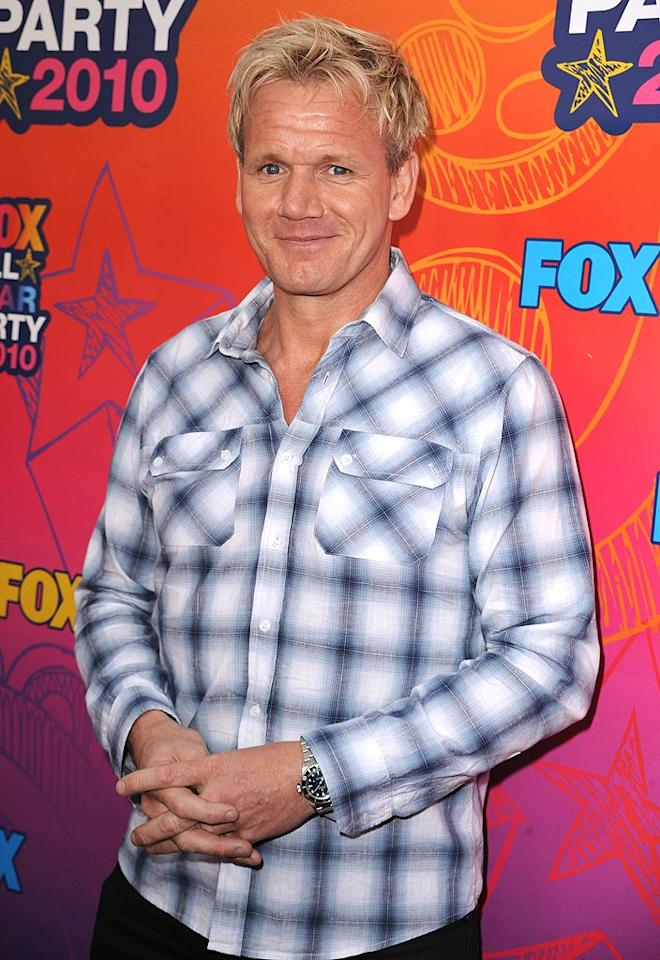 "November 8: Gordon Ramsay turns 44 Steve Granitz/<a href=""http://www.wireimage.com"" target=""new"">WireImage.com</a> - August 2, 2010"