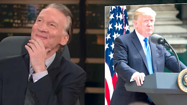 """Bill Maher got into the holiday spirit early on Friday's broadcast of """"Real Time."""""""