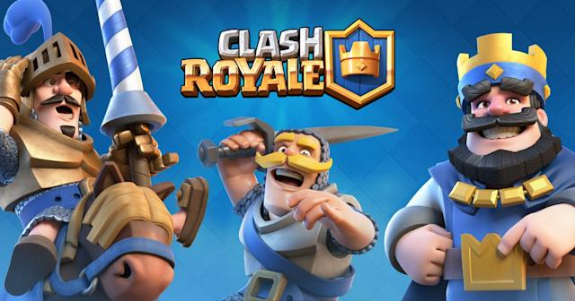Clash Royale won the Esports Audience Award. (Supercell)