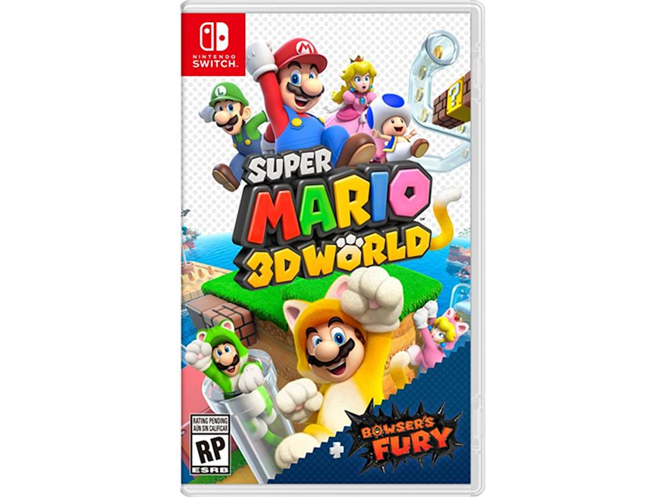 《Super Mario 3D World + Bowser's Fury》(超級瑪利歐3D世界+狂怒世界)