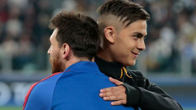 'Messi comparisons hurt Dybala' - Davids admits Barcelona star is a class above