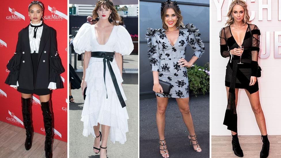 <p>The most bizarre Derby Day dresses</p>