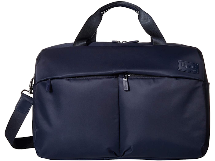 """<strong><h3>Lipault Paris City Plume 24-Hour Bag</h3></strong><br>Stylish with enough capacity to house your 24-hour stay necessities while remaining light and sleek enough for slipping in and dipping out with ease.<br><br><em>Shop <strong><a href=""""https://www.zappos.com/b/lipault-paris/brand/3363"""" rel=""""nofollow noopener"""" target=""""_blank"""" data-ylk=""""slk:Lipault Paris"""" class=""""link rapid-noclick-resp"""">Lipault Paris</a></strong></em><br><br><strong>Lipault Paris</strong> City Plume 24 Hour Bag, $, available at <a href=""""https://go.skimresources.com/?id=30283X879131&url=https%3A%2F%2Fwww.zappos.com%2Fp%2Flipault-paris-city-plume-24-hour-bag-navy%2Fproduct%2F9109732%2Fcolor%2F9"""" rel=""""nofollow noopener"""" target=""""_blank"""" data-ylk=""""slk:Zappos"""" class=""""link rapid-noclick-resp"""">Zappos</a>"""