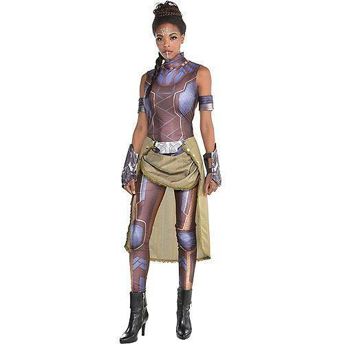 """<p><strong>See All Black Panther Costumes</strong></p><p>partycity.com</p><p><strong>$49.99</strong></p><p><a href=""""https://www.partycity.com/womens-shuri-costume---black-panther-P792416.html"""" rel=""""nofollow noopener"""" target=""""_blank"""" data-ylk=""""slk:Shop Now"""" class=""""link rapid-noclick-resp"""">Shop Now</a></p><p>Though <em>Black Panther</em> premiered in 2018, we see no signs of costume inspo slowing down. For a cool costume, go as the brilliant princess of Wakanda.</p>"""