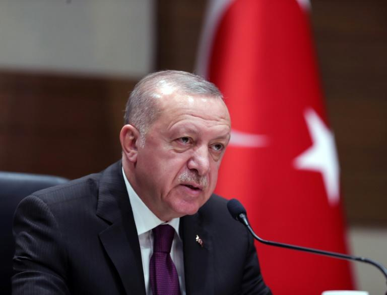 Turkish President Recep Tayyip Erdogan is battling not to be the biggest loser from the Idlib campaign (AFP Photo/Mustafa Kamaci)