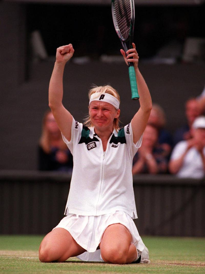 Novotna's greatest triumph came in 1998 (PA Wire/PA Images)