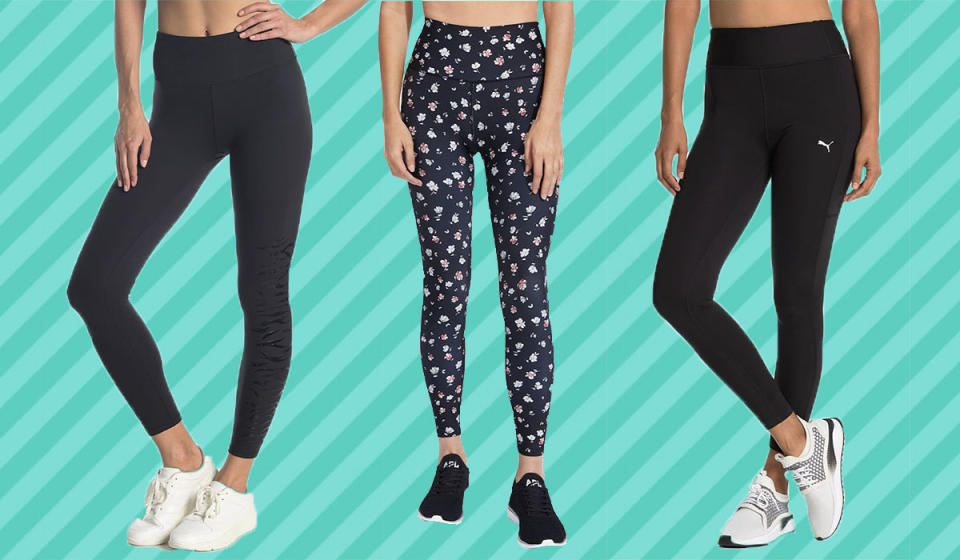 From prints to basic black leggings, you'll find a style you love on sale. (Photo: Nordstrom Rack)