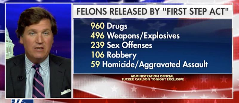 """Info from an administration official on """"Tucker Carlson Tonight."""" (Photo: """"Tucker Carlson Tonight"""")"""