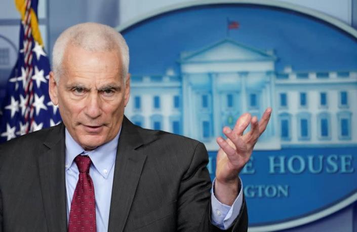 Council of Economic Advisers member Jared Bernstein speaks about economic recovery at the White House in Washington