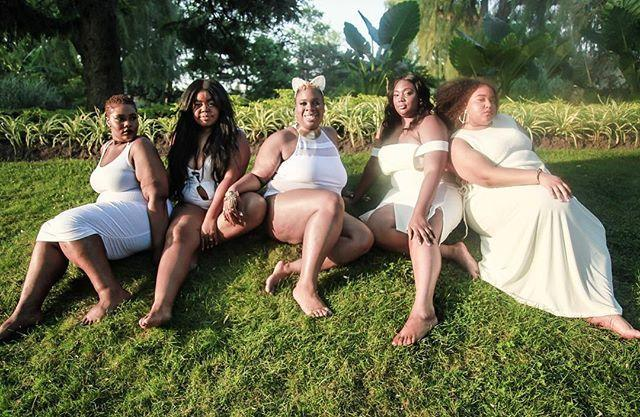 """I asked my beautiful fat femme sisters to join me."" (Photo: <a href=""http://www.xvxyphoto.com/"" rel=""nofollow noopener"" target=""_blank"" data-ylk=""slk:Anthony Gebrehiwot"" class=""link rapid-noclick-resp""> Anthony Gebrehiwot</a>)"