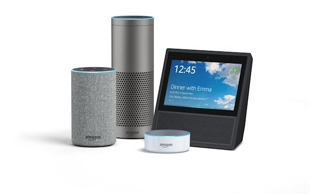 In September, Amazon unveiled several new Echo speakers, including a more compact Echo and a souped-up Echo Plus. Source: Amazon