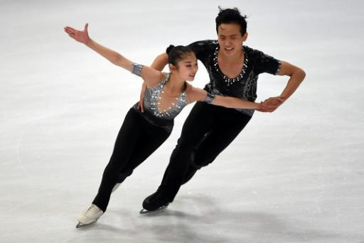 <p>Canadian coach impressed by North Korean duo</p>