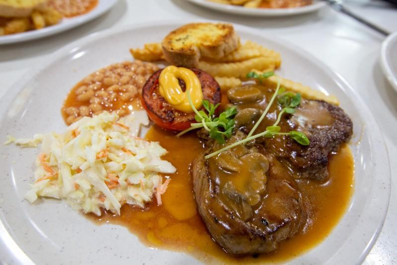 A plate of Ribeye Chilled