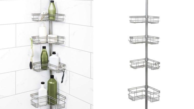 Everyone needs extra shower storage--us included.