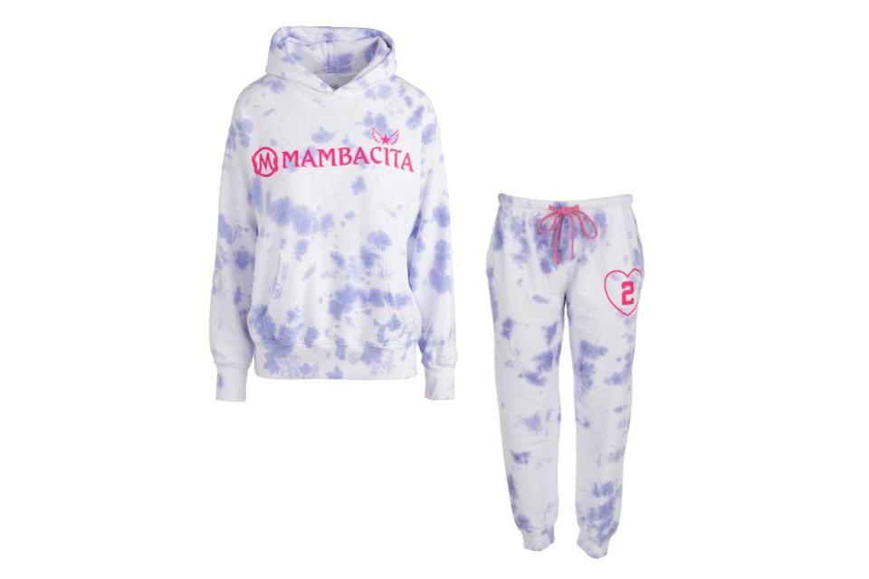 Dannijo, Purple Mambacita Adult Set, Tie Dye Sweats