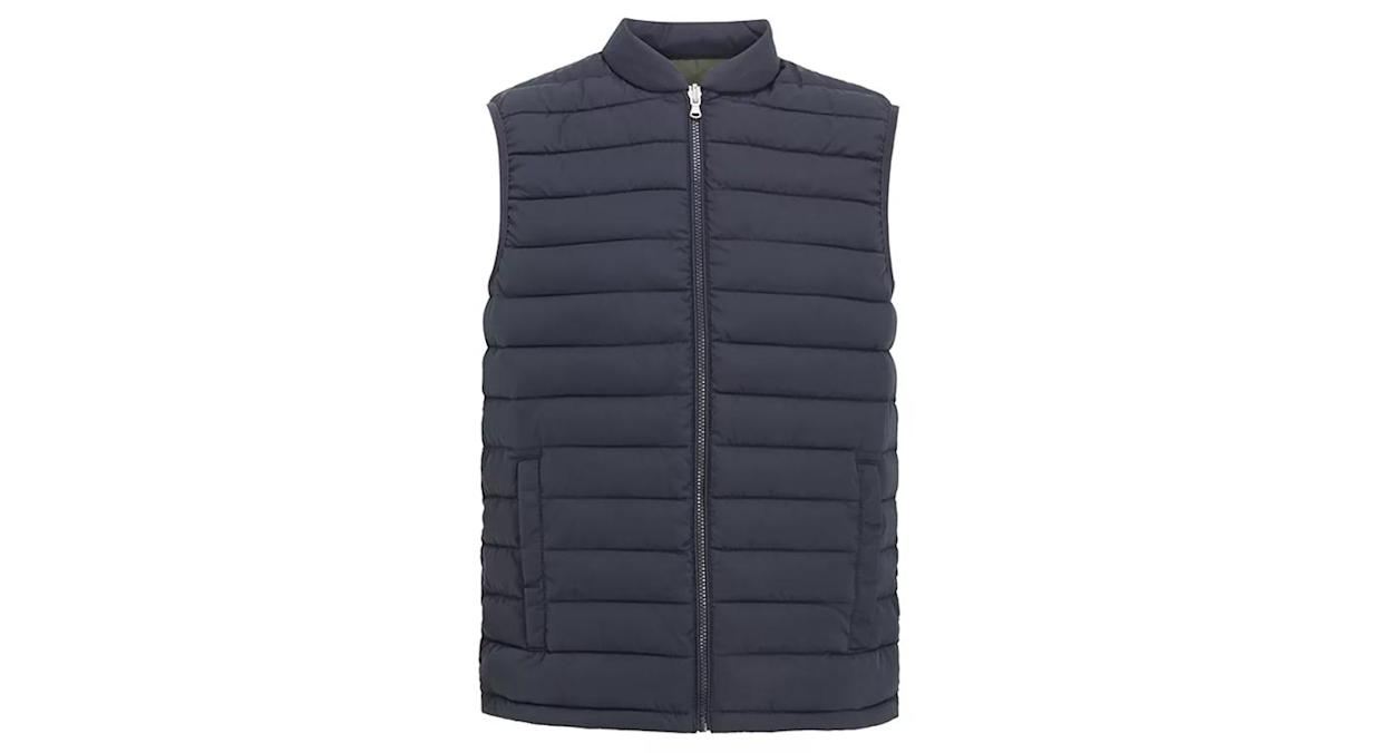 Shower Resistant Recycled Quilted Puffer Gilet