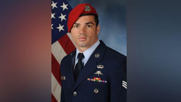 PHOTO: U.S. Air Force Staff Sgt. Cole Condiff, 29, was identified as the airman who went missing after he fell from a C-130 aircraft last week. (U.S. Air Force)
