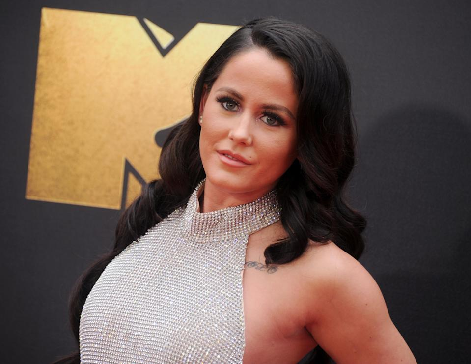 Jenelle Evans at the MTV Movie Awards in 2016. (Photo: Gregg DeGuire/WireImage)