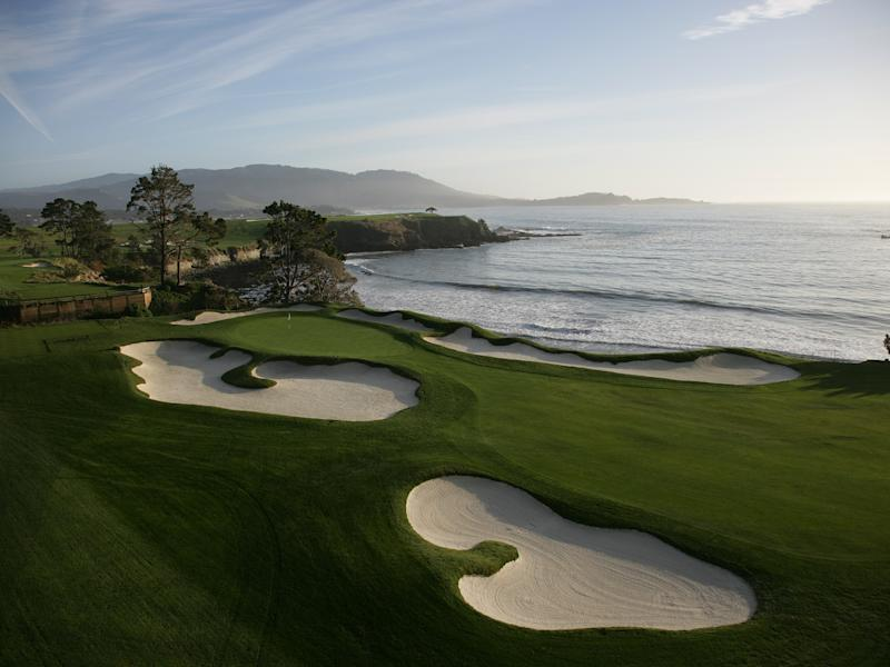 Storm damages Pebble Beach suites video boards days before AT&T Pro-Am