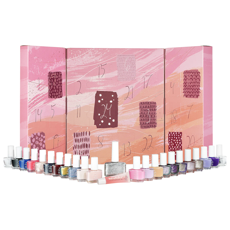 """Have a friend who spent their quarantine perfecting their nail art game? Treat them to this advent calendar packed with 24 mini polishes in a rainbow of shades. $65, Sephora. <a href=""""https://www.sephora.com/product/ciate-mini-mani-month-nail-polish-advent-calendar-P463828"""" rel=""""nofollow noopener"""" target=""""_blank"""" data-ylk=""""slk:Get it now!"""" class=""""link rapid-noclick-resp"""">Get it now!</a>"""