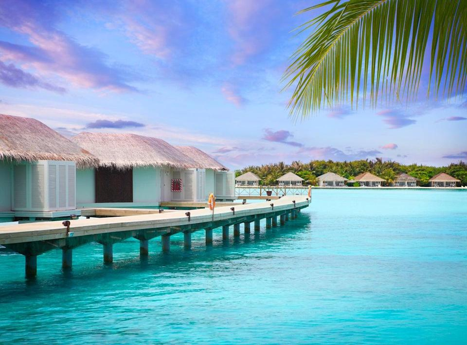 The Maldives are now on the UK government's 'safe' list (Getty Images)