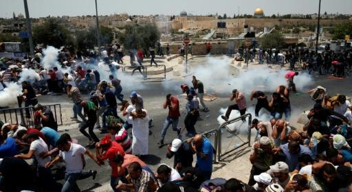 Deadly stabbing, clashes as tensions rise over Jerusalem holy site