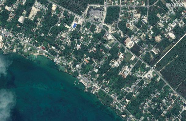 PHOTO: Before Hurricane Dorian strck northwestern Marsh Harbour on Great Abaco Island, Bahamas, in a satellite image taken Oct. 25, 2018. (Maxar Technologies via Reuters)