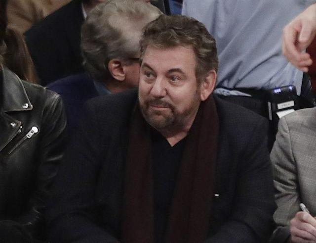 Knicks owner James Dolan is in another mess. (AP)
