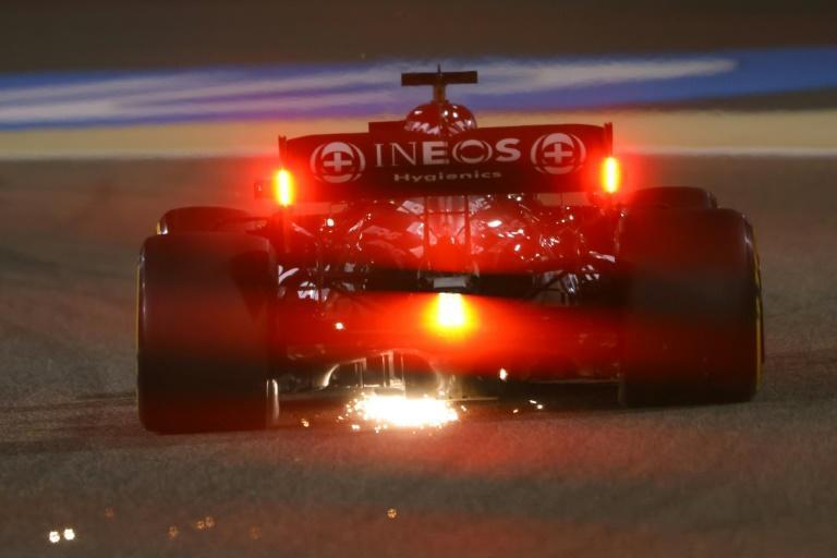 Second best: Lewis Hamilton drives during qualifying on Saturday