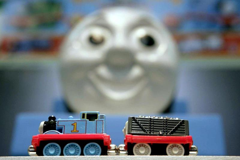 Michael Angelis was a familiar voice on the Thomas The Tank Engine series Thomas And Friends (PA)